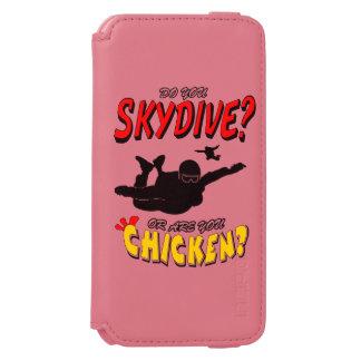Skydive or Chicken? (blk) Incipio Watson™ iPhone 6 Wallet Case