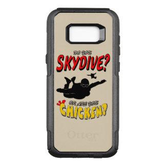 Skydive or Chicken? (blk) OtterBox Commuter Samsung Galaxy S8+ Case