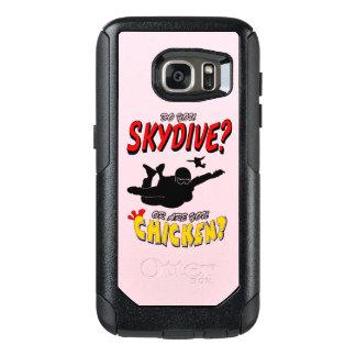 Skydive or Chicken? (blk) OtterBox Samsung Galaxy S7 Case