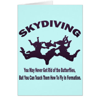 SKYDIVING CARD