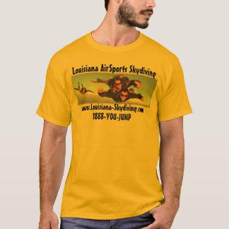 Skydiving-Louisiana-AirSports-Pic-Logo T-Shirt