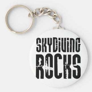 Skydiving Rocks Key Ring