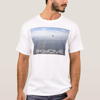 skydiving skydive parachute clouds T-Shirt