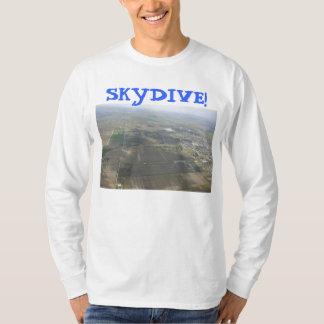 skydiving skydive parachute earth T-Shirt