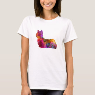 Skye Terrier 01 in watercolor T-Shirt