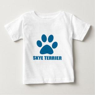 SKYE TERRIER DOG DESIGNS BABY T-Shirt