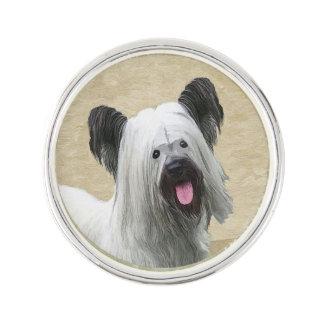 Skye Terrier Lapel Pin