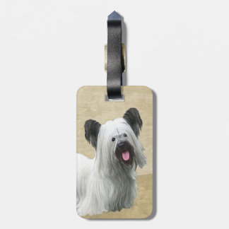 Skye Terrier Luggage Tag