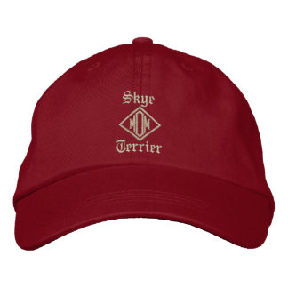 Skye Terrier Mom Gifts Embroidered Hat