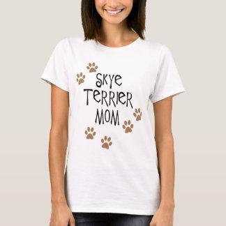 Skye Terrier Mom T-Shirt