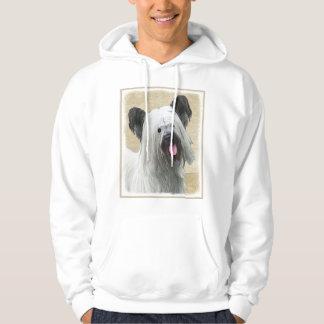 Skye Terrier Painting - Cute Original Dog Art Hoodie