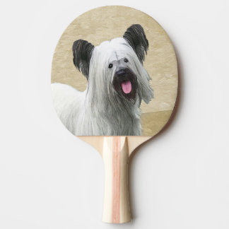 Skye Terrier Ping Pong Paddle