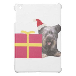 Skye Terrier Santa Hat iPad Mini Case