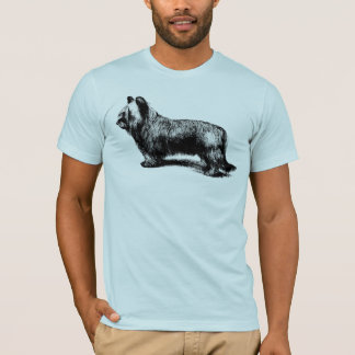 Skye Terrier vintage art T-Shirt