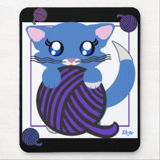 Skye Toon Kitten Kitty Mousepad