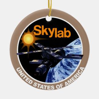 SKYLAB Program Logo Ceramic Ornament