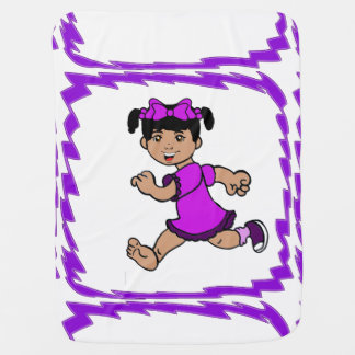 Skylar runs away blanket