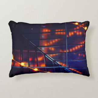 Skylight and String Lights Pillow