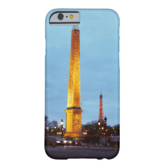 Skyline at dusk of 'Place de la Concorde' with Barely There iPhone 6 Case