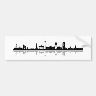 Skyline Berlin Bumper Sticker