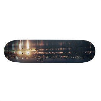 Skyline Burns The Hudson Skate Decks