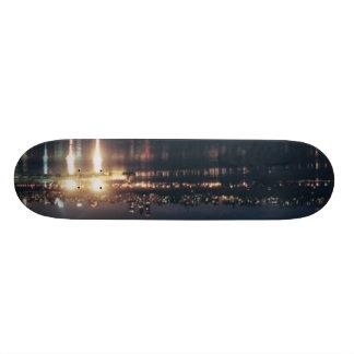 Skyline Burns The Hudson Skate Decks