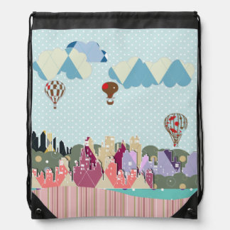 Skyline Drawstring Backpack