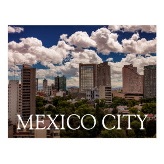 Skyline From The Hotels In Polanco Mexico City Postcard