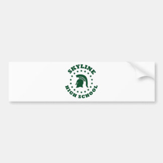Skyline High School Bumper Sticker