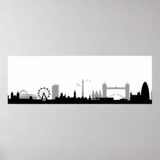 Skyline London Poster
