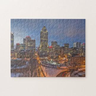 Skyline Montreal. Jigsaw Puzzle