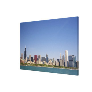 Skyline of Chicago, Illinois, USA. Canvas Prints