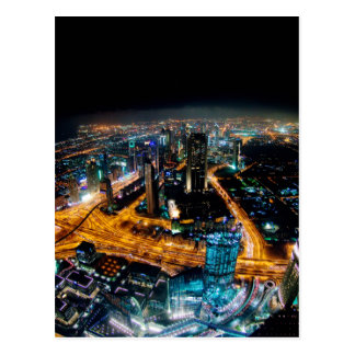 Skyline of Dubai Postcard