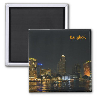 Skyline of night Bangkok Magnet