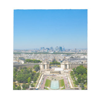 Skyline of Paris Notepads