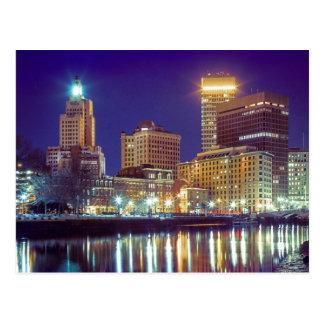 Skyline of Providence, Rhode Island Postcard