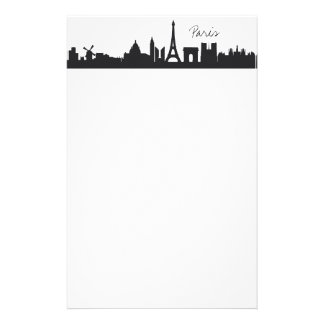 Skyline Paris Stationery