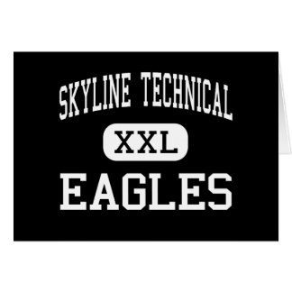 Skyline Technical - Eagles - High - Peoria Arizona Greeting Cards
