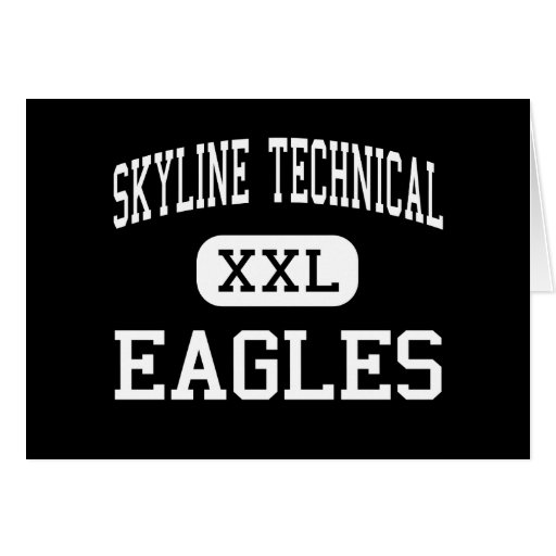 Skyline Technical - Eagles - High - Peoria Arizona Greeting Cards