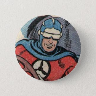 Skyman 6 Cm Round Badge