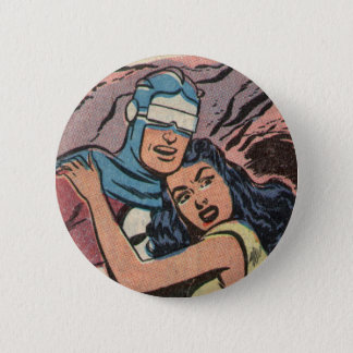 Skyman and Fawn! 6 Cm Round Badge