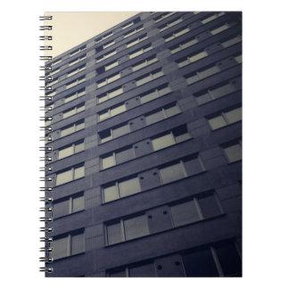 Skyscraper exterior view notebooks