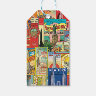 Skyscraper of New York Gift Tags