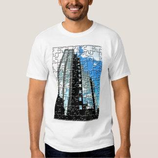 Skyscraper Puzzle T-shirts