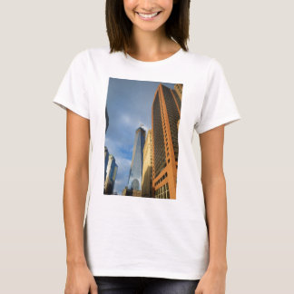 Skyscraper Reflections of New York T-Shirt