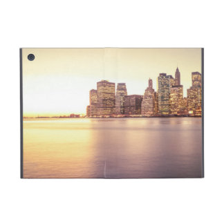 Skyscraper Skyline - New York City Sunset Case For iPad Mini