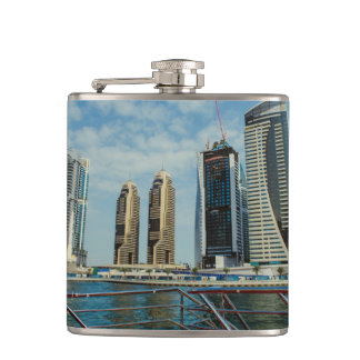 Skyscrapers in Dubai Marina Flasks