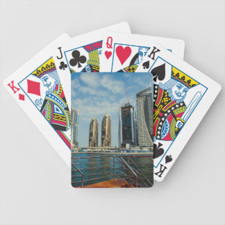 Skyscrapers in Dubai Marina Poker Deck