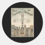 Skyscrapers of Philadelphia Stickers