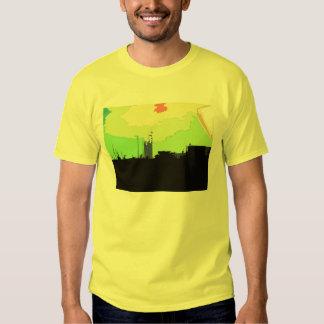 skyscrapes t-shirts
